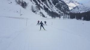 Ski de fond nordique peisey nancroix