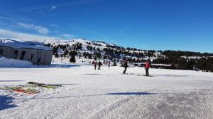 les saisies beaufortains ski de fond nordique JO 1992