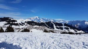 panorama les saisies mont blanc ski nordique de fond beaufortain