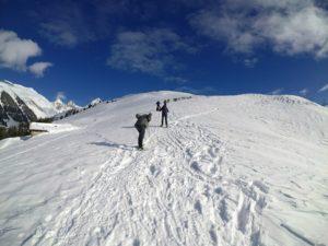 ski nordique valezan chalet milka du ski de fond tarentaise gratuit sans forfait