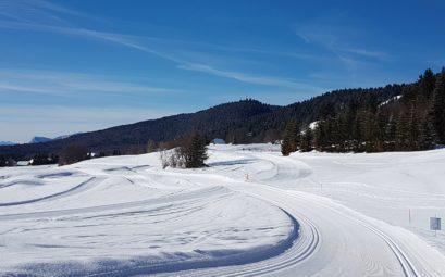 la féclaz ski de fond nordique savoir grand revard
